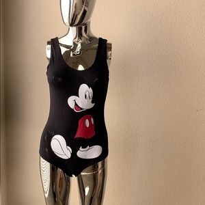 Mickey Mouse body suit